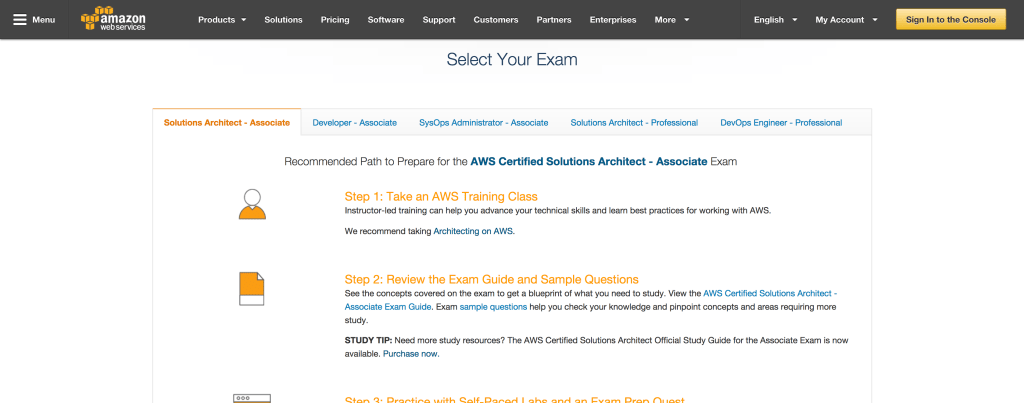 AWS-Exam-Preparation