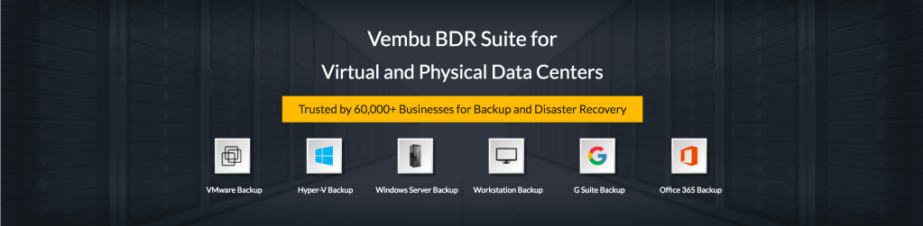 Sponsored content: Vembu releases BDR Suite v3.8.0