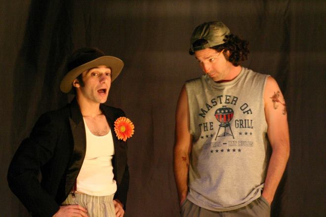 Jeff Raab (Autolycus), Jason Richards (Clown)