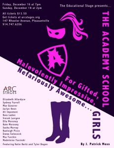 Academy School... Poster, Arc Stages