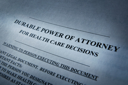 end of life planning - durable power of attorney