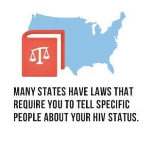 State laws demand disclosure when diagnosed hiv positive