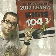 I got back JUST in time to watch the hawks win their second Stanley Cup in 3 years!