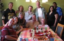 This was my going away party when I took the job at WMZQ. SUCH a great team we had in place! Awesome friends.