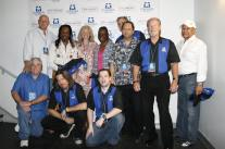 The entire KOOL staff at our 40th Anniversary concert with Earth, Wind & Fire! (It was THEIR 40th as well.)