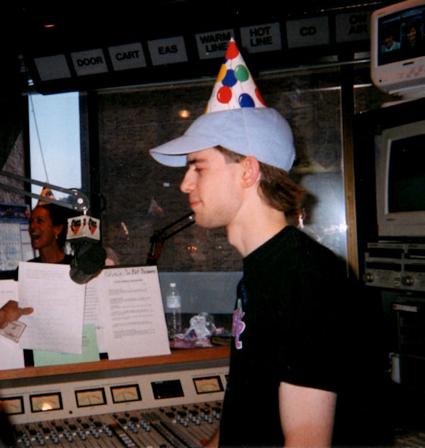 I celebrated my 21st birthday on-air at Q102! SO young...
