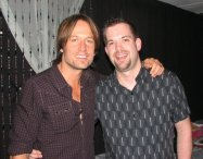 Here's Keith Urban now. Do you think WE look alike? I wish!