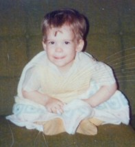 I still have this mischievous look today!