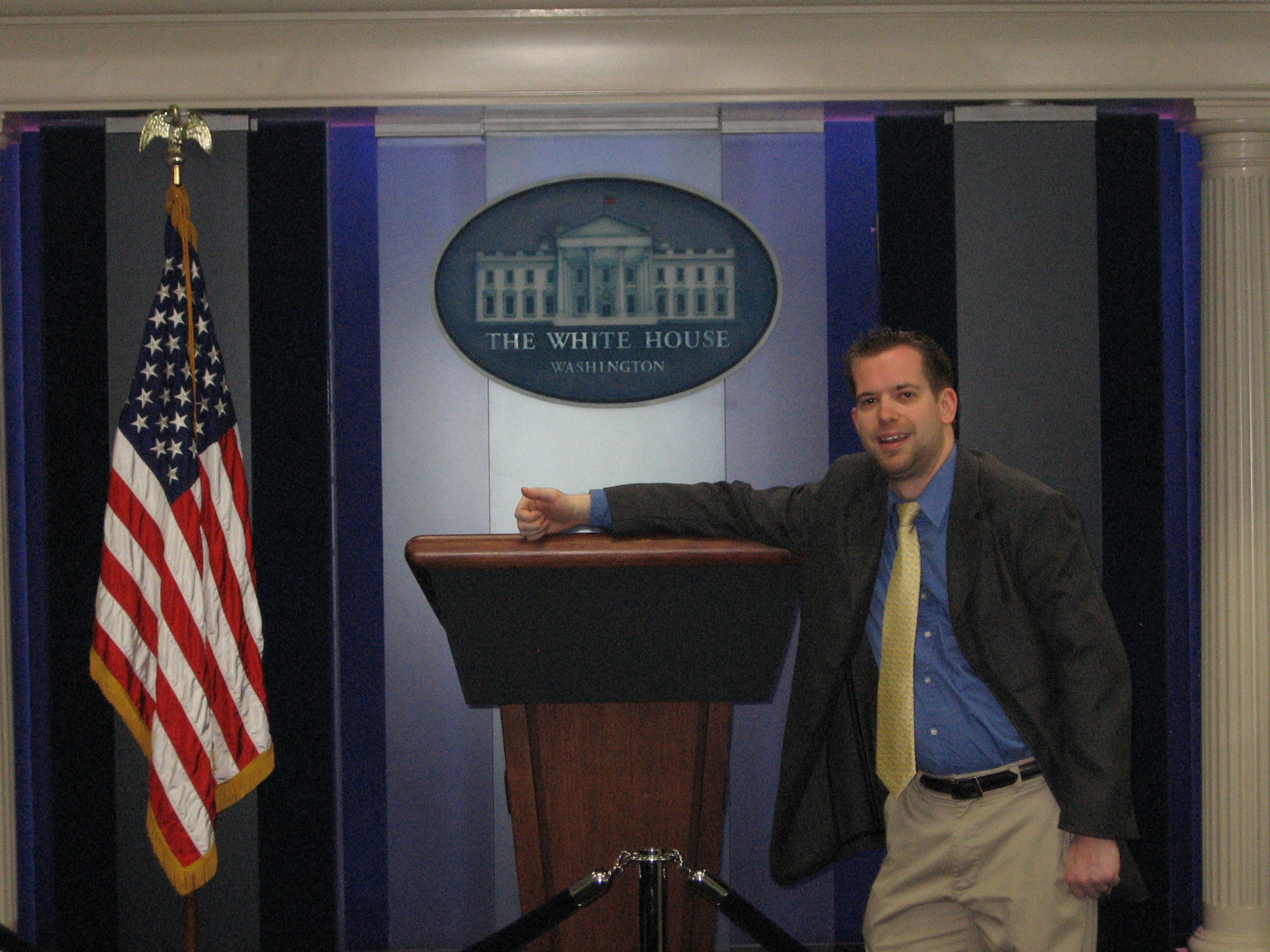 My visit to the White House.