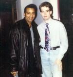 Remember this dude? JON SECADA! Oh...nice tie.