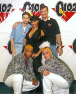 There's Billy Hammond and I with Lil Suzy and her thug dancers. Nice ti-----nevermind.