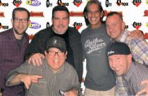 Here's a pic taken almost 20 years later at a Q Reunion! (Me, Diego Ramos, Bob Burke, Glenn Kalina, Steve Bartell and Howard the Duck)