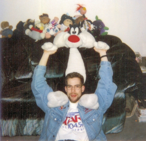 """After """"leaving"""" Q102, I went across the street to Star 104.5. I also played with stuffed animals. Nice pussy."""