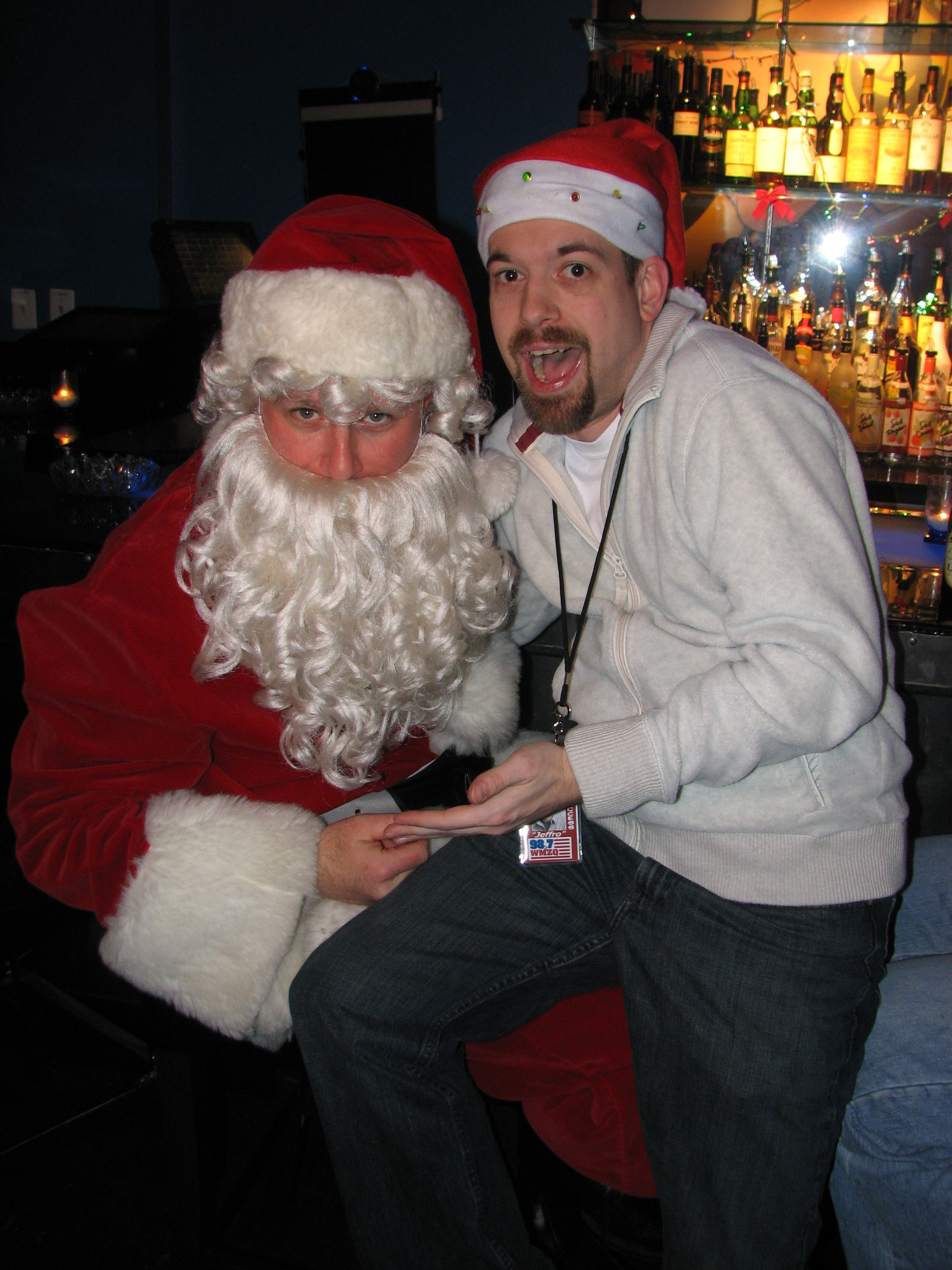 Though, he made a great Santa!
