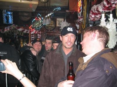 Pat Clark, Jimmy, Shark & Chris at Pippins