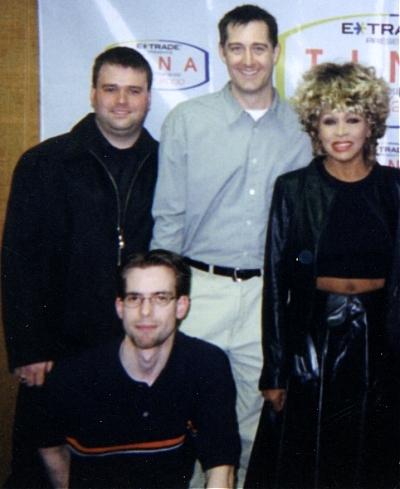 Wow! Tina Turner! (w/ Harry Legg & Haynes Johns from WNND)
