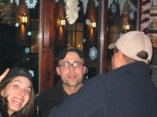 E-Crew Sherri, Joe & Viva's David Bello at Pippins