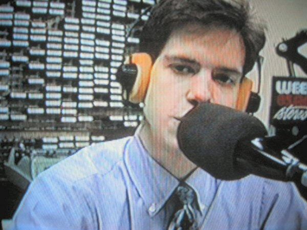 Last, but not least, I'm finally a REAL, LIVE DEEJAY at 85 AM Stereo, WEEU in Reading, PA...16 years old in high school!