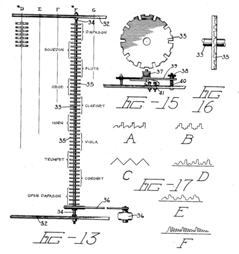 A detail of the Robb Wave Organ patent