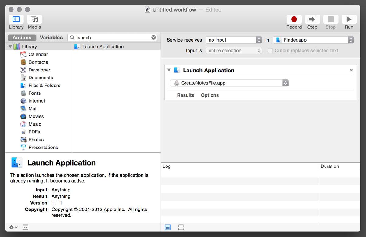 Tutorial Create A Readme File Finder Shortcut Jeff Thompson