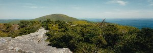 Bear Mountain Connecticut as seen from Race Mountain Connecticut. ©2016 www.jeffryanauthor.com