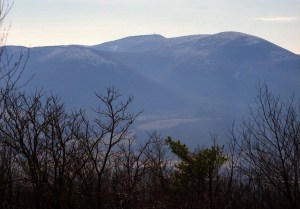 View of Mount Greylock From the book: Appalachian Odyssey: A 28-year hike on America's Trail. ©2016, JeffRyanAuthor.
