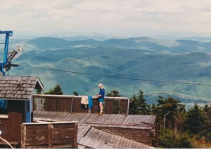Killington Peak in Vermont tops 4,000'. From the book: Appalachian Odyssey: A 28-year hike on America's Trail. ©2016, JeffRyanAuthor.