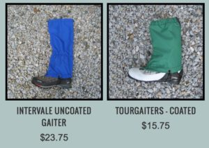 Photo of Ragged Mountain Gaiters
