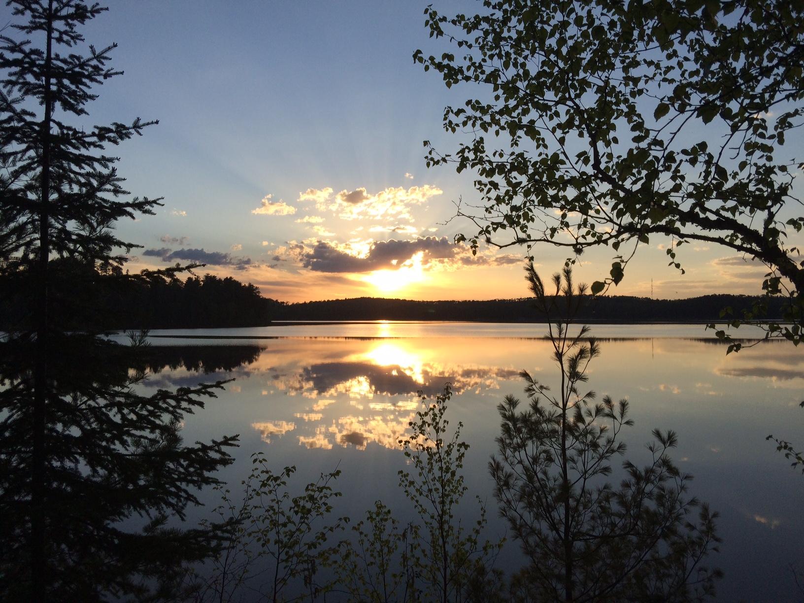 Quetico Sunset