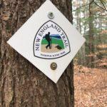 New England Trail logo. ©2017 www.JeffRyanAuthor.com
