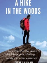 A hike in the woods book cover