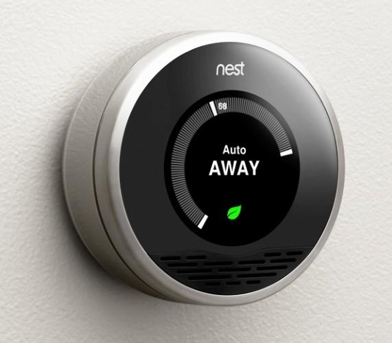 Nest auto away