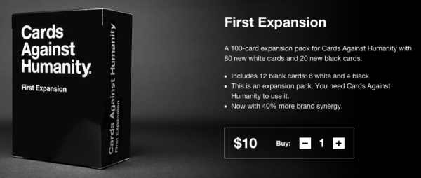 cards against humanity product description