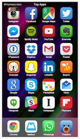 homescreen.is top app list