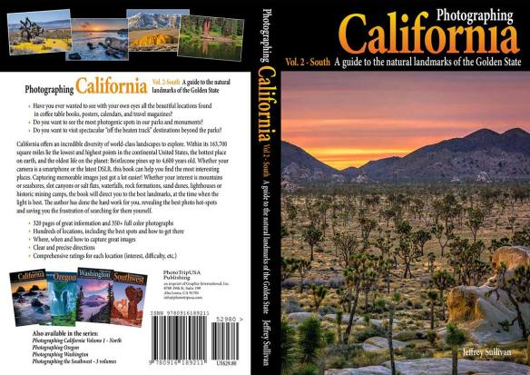 Photographing California - South, landscape photography guidebook by Jeff Sullivan