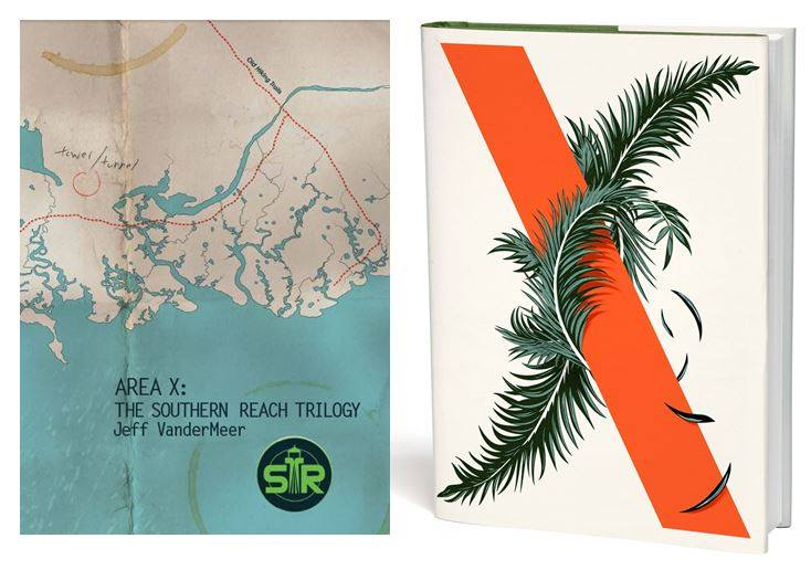 Southern Reach trilogy with chapbook