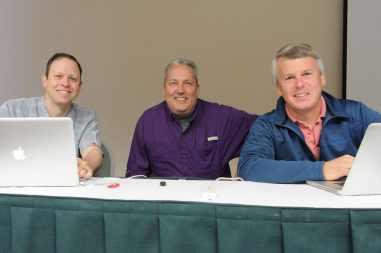 Scott Rouse, Jeff Wendorff, David Middleton at Thinking LIke a Pro Workshop