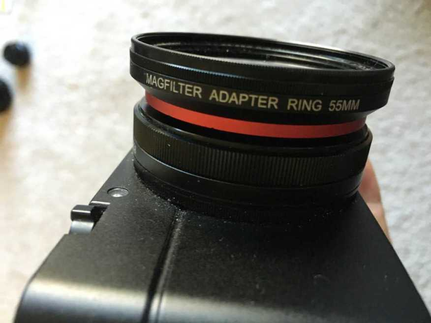 MAGFilter attached to the Sony RX-100M3