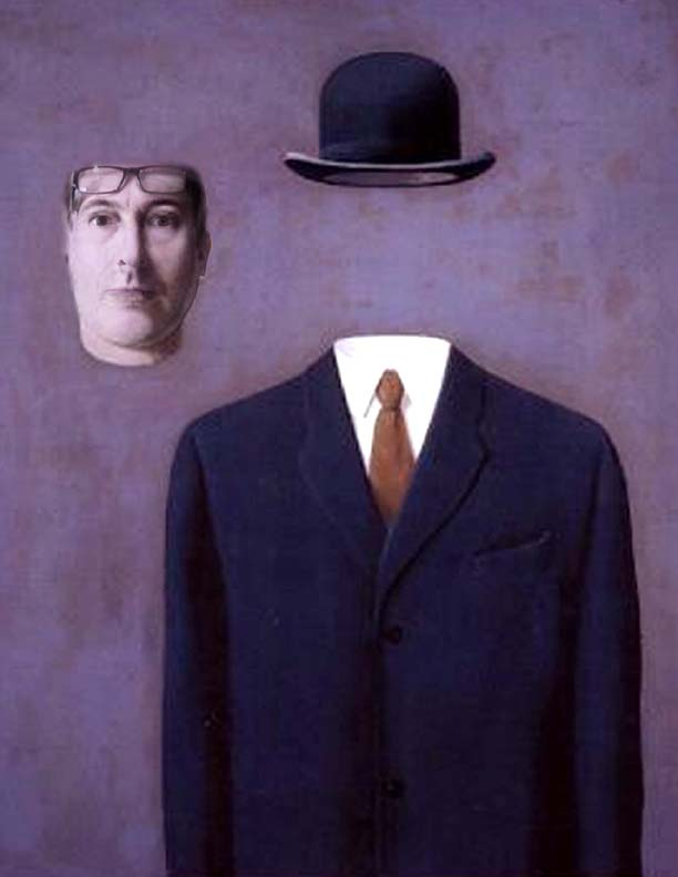 Image result for rene magritte self portrait