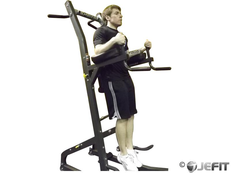 Parallel Bar Leg Raise Exercise Database Jefit Best