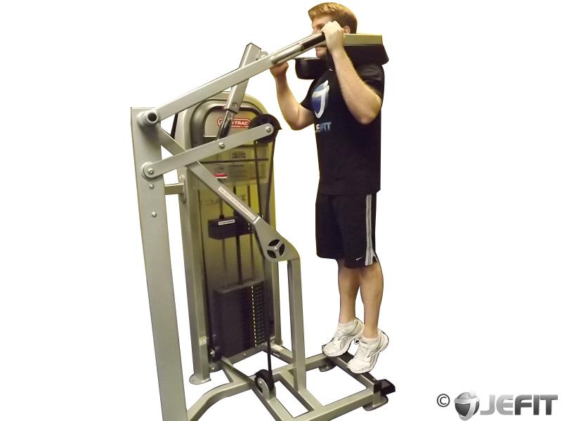 Standing Calf Raises Exercise Database Jefit Best