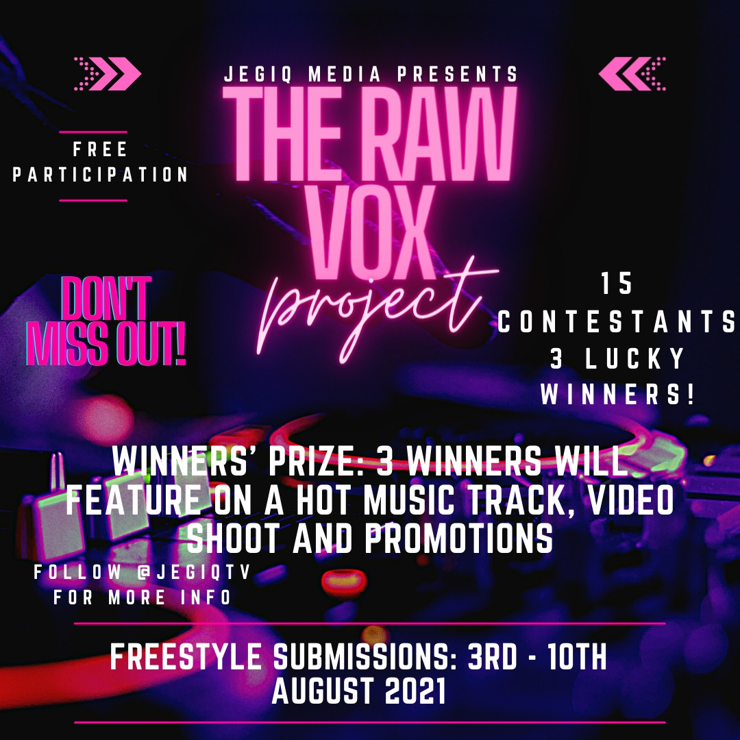THE RAW VOX PROJECT (Download Beat Here)