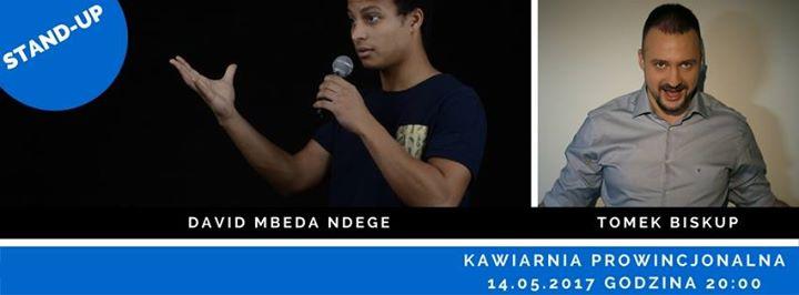 Stand up w Prowincjonalnej: David Mbeda Ndege