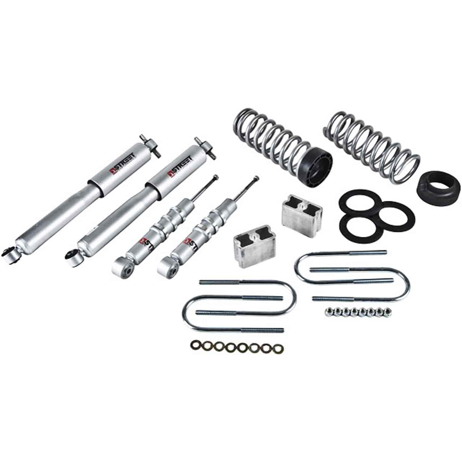 Belltech 602sp Complete Lowering Kit For Chevy Colorado Gmc Canyon