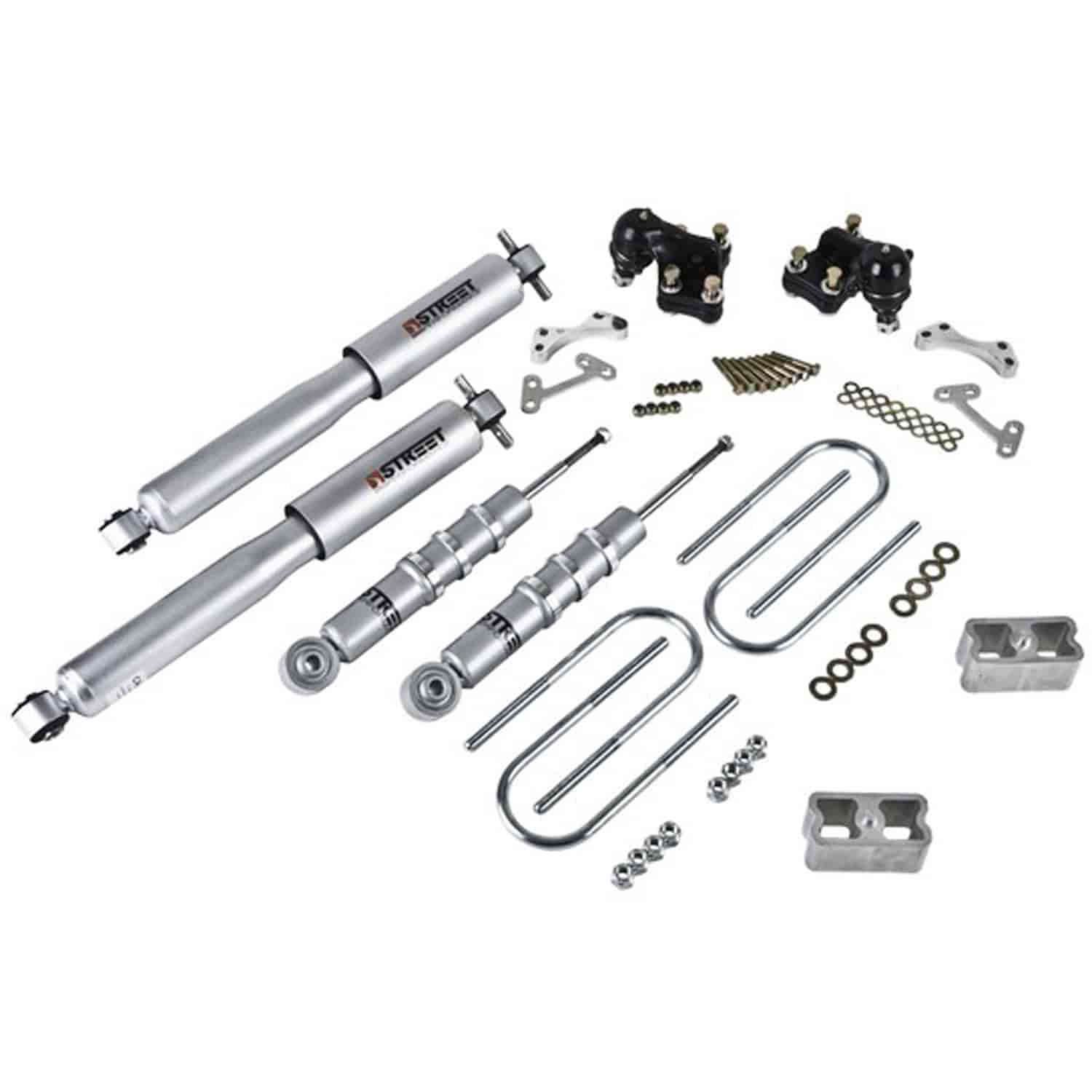 Belltech 611sp Complete Lowering Kit For Chevy