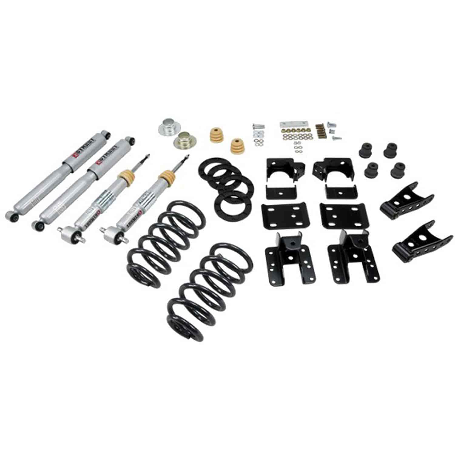 Belltech 642sp Complete Lowering Kit For Chevy