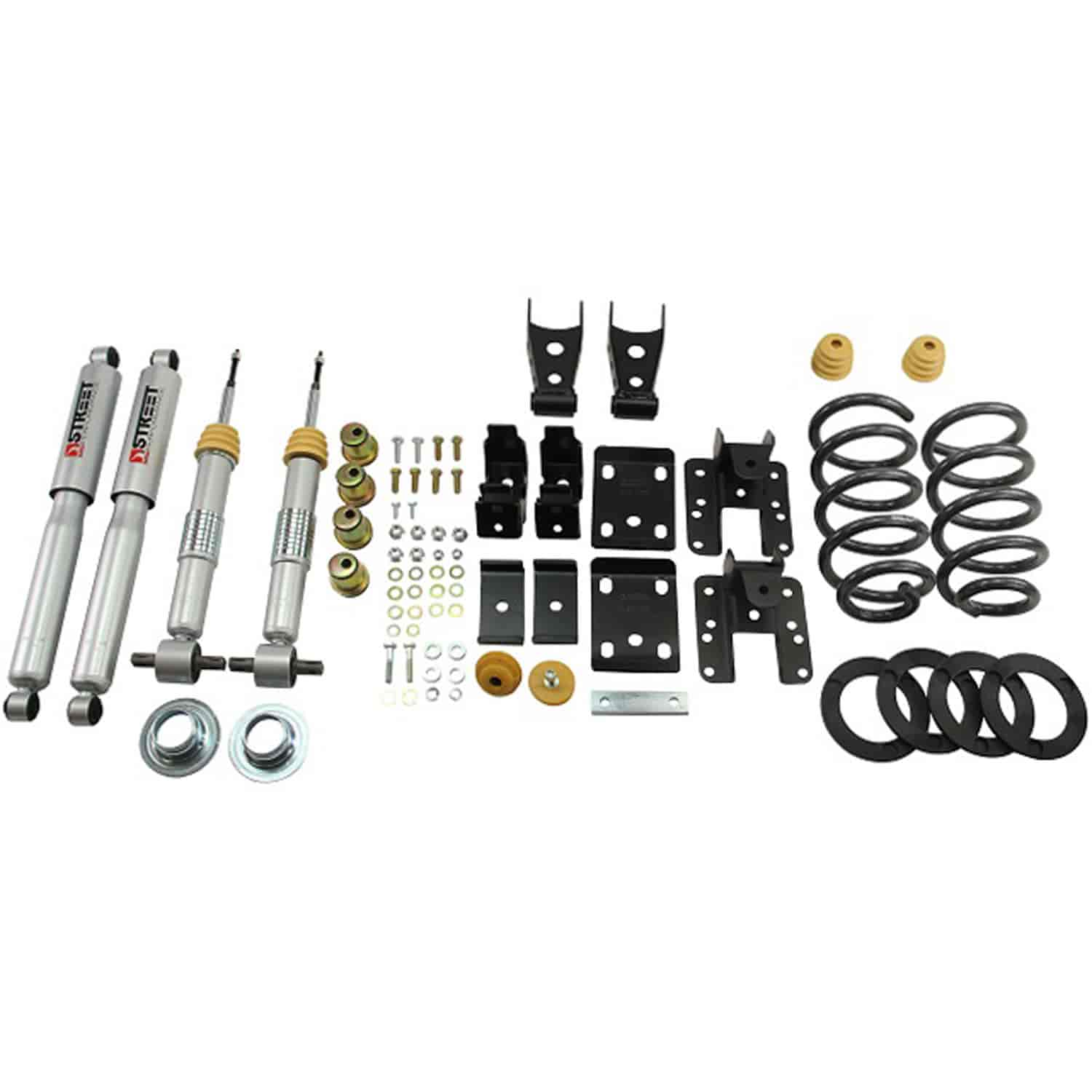 Belltech 651sp Complete Lowering Kit For Chevy