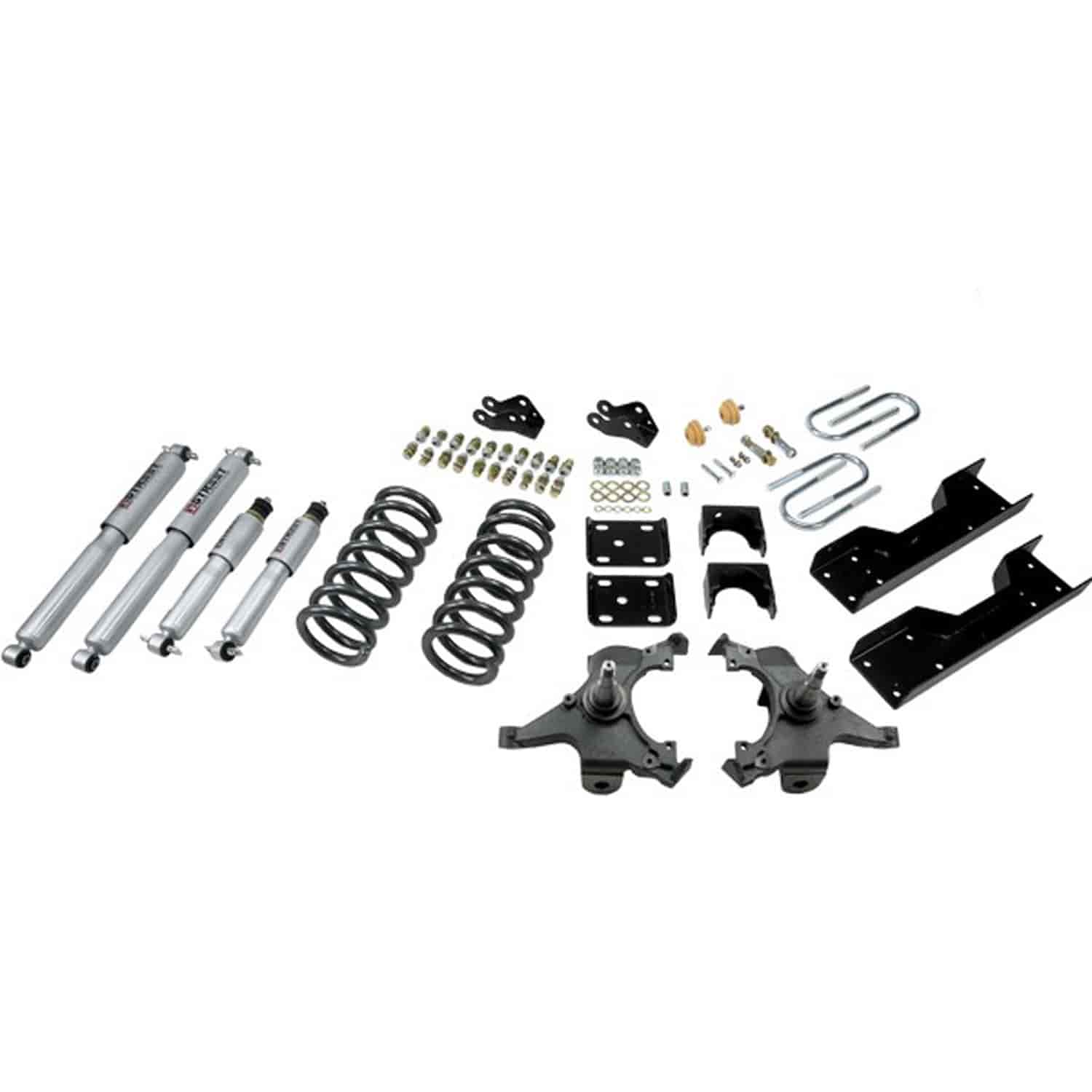 Belltech 701sp Complete Lowering Kit For Gm