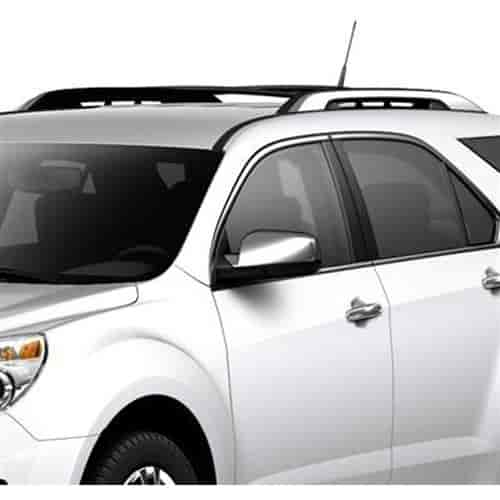 gm accessories roof rack cross rail package 2010 14 chevy equinox