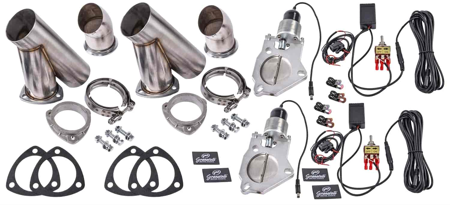 granatelli dual electric exhaust cutout system